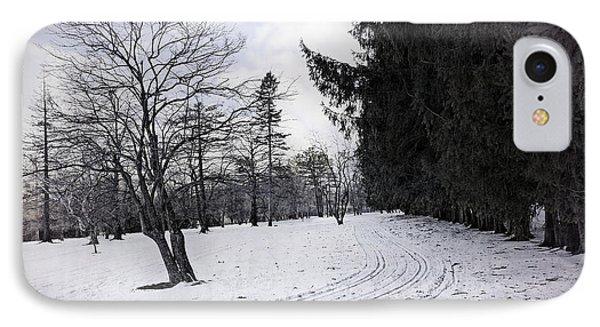 Berkshires Winter 9 - Massachusetts Phone Case by Madeline Ellis