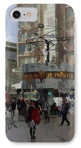 Berlin Alexanderplatz Phone Case by Steve K
