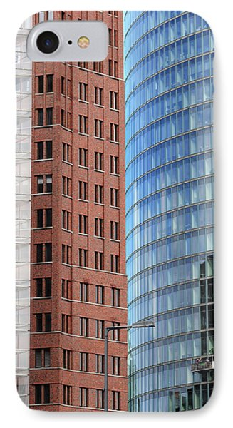 Berlin Buildings Detail Phone Case by Matthias Hauser