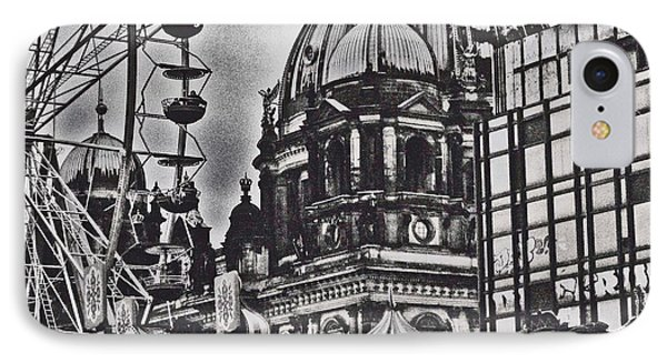 IPhone Case featuring the photograph Berlin Christmas Market by Cassandra Buckley