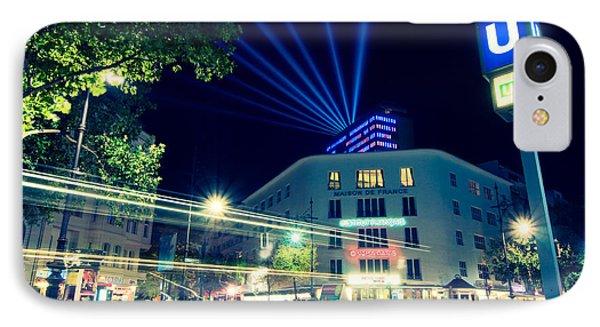 Berlin Kurfurstendamm IPhone Case