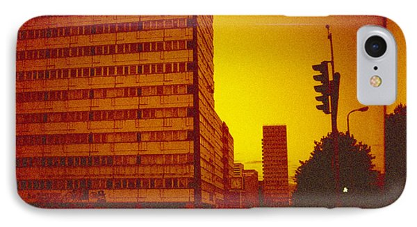 Berlin Street Ddr IPhone Case by Juan  Bosco