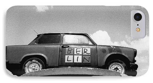 Berlin Trabant IPhone Case by Dean Harte
