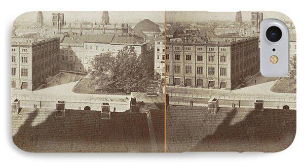 Berlin, V. Schloss N. D Construction Academie IPhone Case