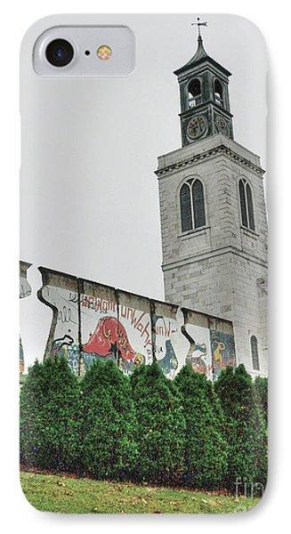 Berlin Wall Segment Phone Case by David Bearden