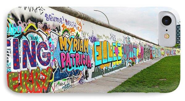 Berlin Wall IPhone Case by Ton Kinsbergen
