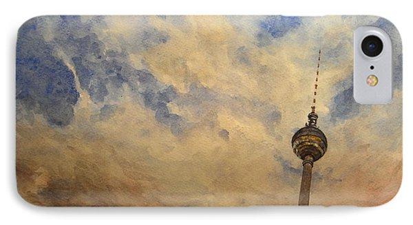 Berliner Sky IPhone Case by Juan  Bosco