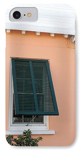 Bermuda Shutters IPhone Case by Ian  MacDonald