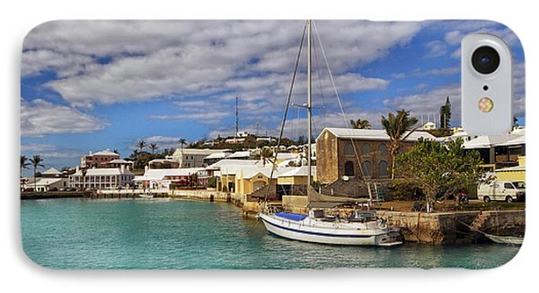 Bermuda St George Harbour IPhone Case by Charline Xia