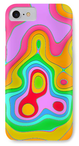 Bermuda Triangle Series #1 Phone Case by Vidka Art
