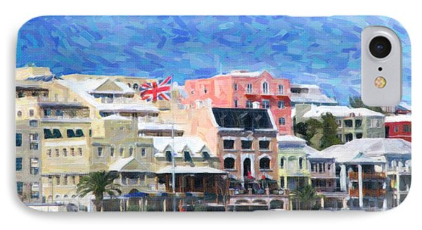 IPhone Case featuring the photograph Bermuda Waterfront by Verena Matthew