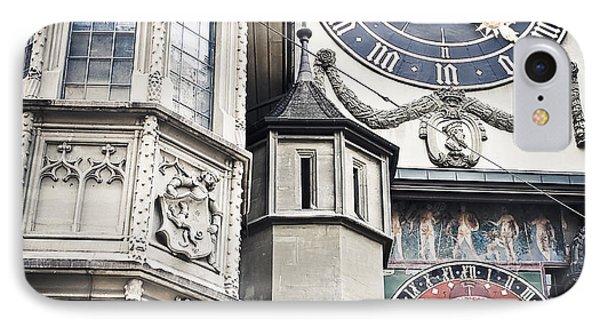 Berne Famous Clock IPhone Case by Mesha Zelkovich