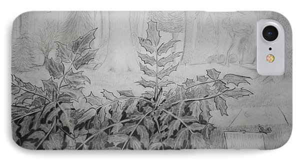 Bernheim Forest Plant IPhone Case by Stacy C Bottoms