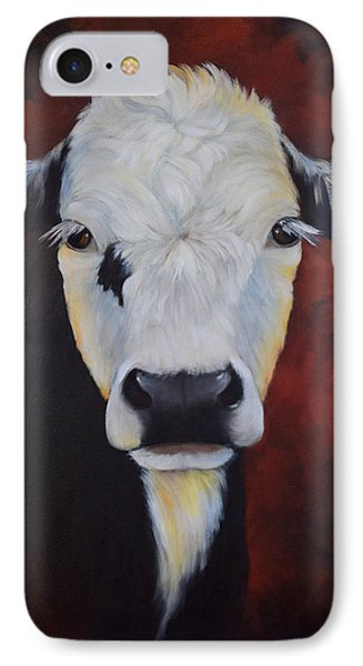 IPhone Case featuring the painting Bernice by Cheri Wollenberg