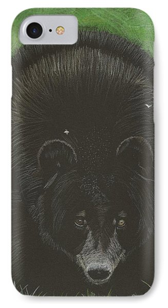 Bernie IPhone Case by Sheila Byers