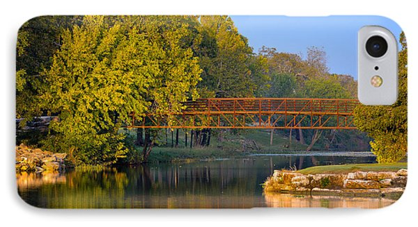 Berry Creek Bridge IPhone Case