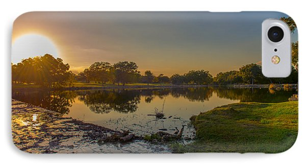 Berry Creek Sun Set IPhone Case
