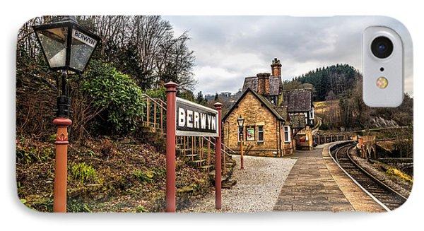 Berwyn Station Phone Case by Adrian Evans
