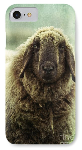Sheep iPhone 7 Case - Besch Da Pader by Priska Wettstein