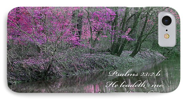 Beside Still Waters IPhone Case by Lorna Rogers Photography