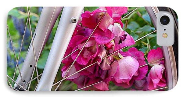 Bespoke Flower Arrangement IPhone 7 Case by Rona Black
