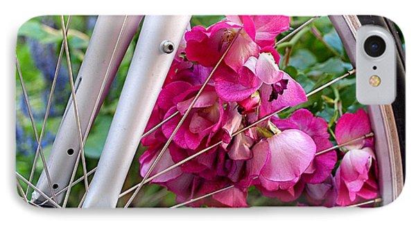 Bespoke Flower Arrangement IPhone Case by Rona Black