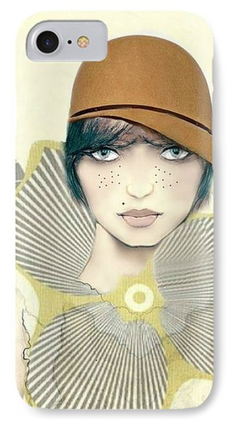 Bess IPhone Case by Barbie Guitard