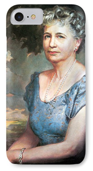 Bess Truman, First Lady IPhone Case by Science Source