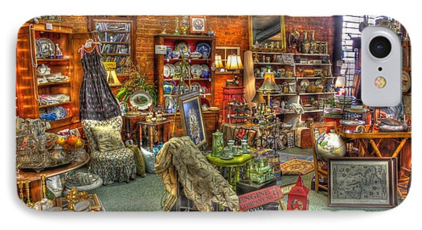 Best Antique Store On The Planet In Greensboro IPhone Case by Reid Callaway