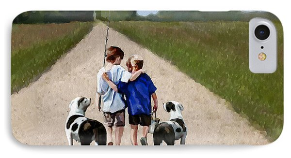 Best Friends Forever IPhone Case by Jann Paxton
