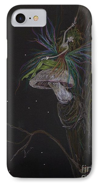 IPhone Case featuring the drawing Best Seat In The House by Dawn Fairies