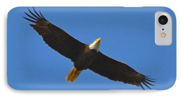 Best Soaring Bald Eagle Phone Case by Jeff at JSJ Photography