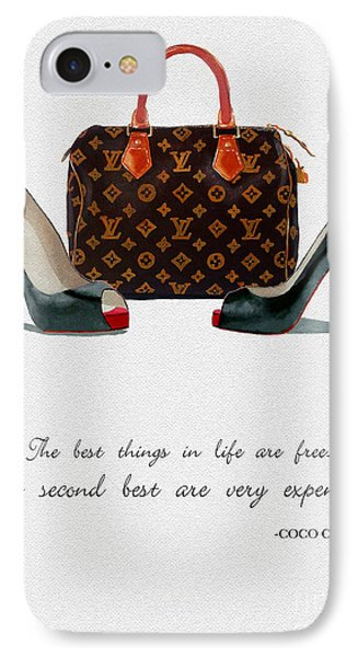 Best Things In Life 2nd Edition IPhone Case by Rebecca Jenkins
