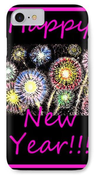 Best Wishes And Happy New Year Phone Case by Irina Sztukowski