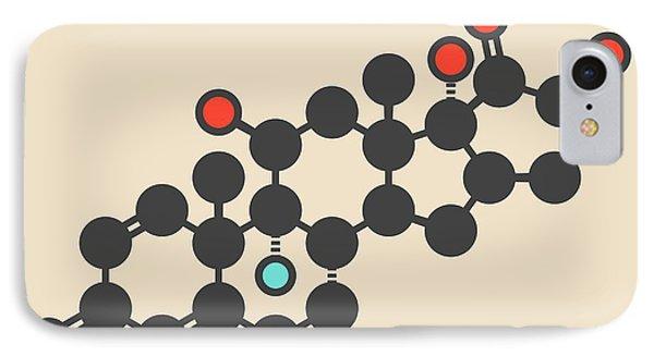 Betamethasone Drug Molecule IPhone Case