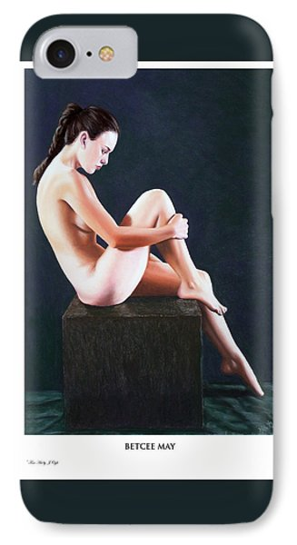 IPhone Case featuring the painting Betcee May Prints Only by Joseph Ogle