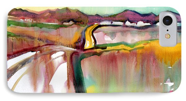 IPhone Case featuring the painting Bethel Road by Teresa Ascone