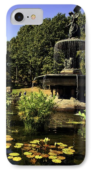 Bethesda Fountain - Central Park 2 Phone Case by Madeline Ellis