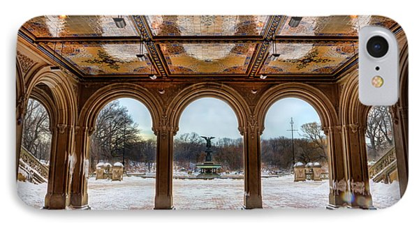 Bethesda Terrace Lower Passage II IPhone Case by Lee Dos Santos