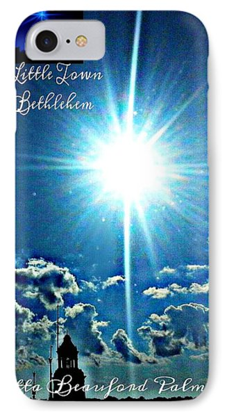 IPhone Case featuring the photograph Bethlehem by Joetta Beauford