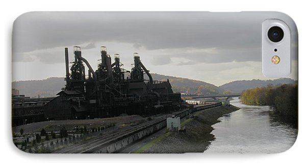 Bethlehem Steel IPhone Case by Jacqueline M Lewis