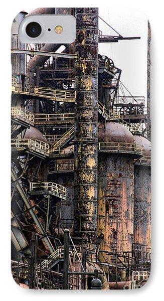 Bethlehem Steel Series IPhone Case by Marcia Lee Jones