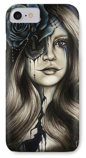 IPhone Case featuring the drawing Betrayal by Sheena Pike