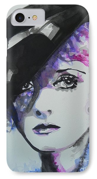 Bette Davis 02 Phone Case by Chrisann Ellis