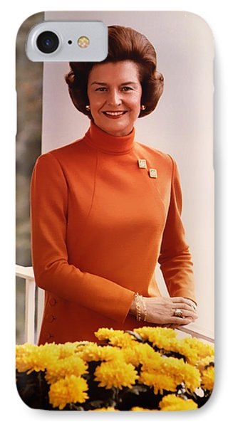 Betty Ford 1974 IPhone Case