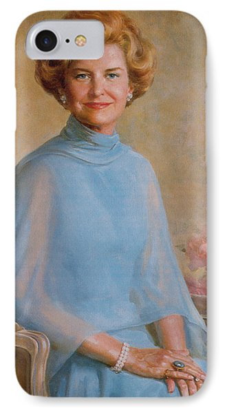Betty Ford, First Lady IPhone Case