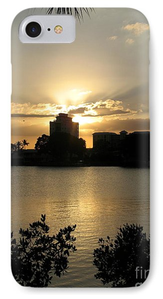 Between Day And Night IPhone Case by Christiane Schulze Art And Photography