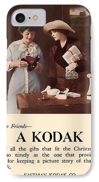 Between Friends. Circa 1915. IPhone Case