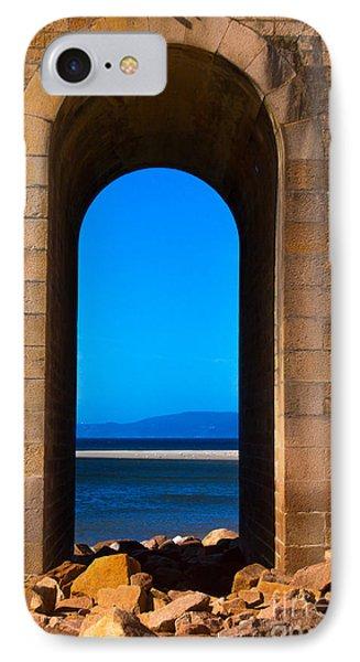 Between Sea And Sky IPhone Case by Edgar Laureano