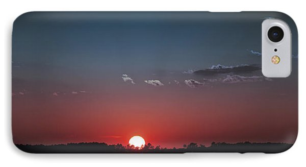 Between The Light And The Dark IPhone Case by Rebecca Davis